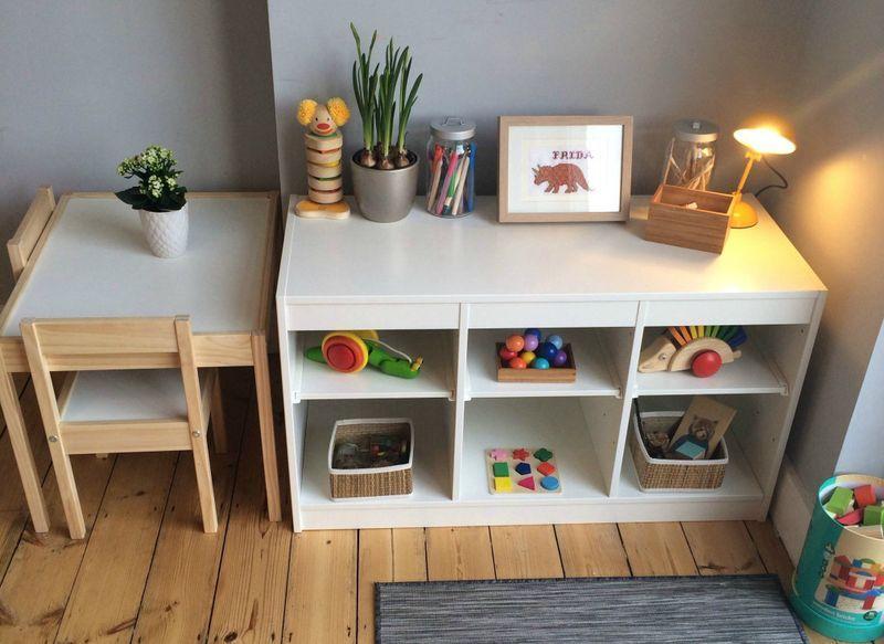 Rincón de juego Montessori